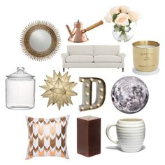 """""""Home style #1"""" by xblackmarketx ❤ liked on Polyvore featuring interior, interiors, interior design, home, home decor, interior decorating, Crate and Barrel, Tom Dixon, BESTTIME and Mauviel"""
