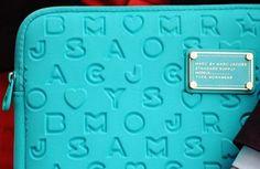 Laptop bag - love the colour LFW Street Style 2012 designer accessories Global Blue
