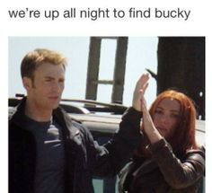 Up all night to find Bucky