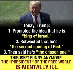 It Was NEVER Funny that this Unfit Unqualified Criminal Stole The Presidency - Terminator Funny - Terminator Funny Meme - - The post It Was NEVER Funny that this Unfit Unqualified Criminal Stole The Presidency appeared first on Gag Dad. Political Quotes, Political Views, Kings Of Israel, Truth Hurts, We The People, Donald Trump, Presidents, Politics, Sayings