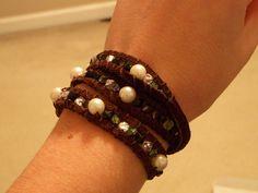 YouTube Wrap Bracelet | Wrap bracelet inspired by Threadbanger tutorial ... | Jewelery