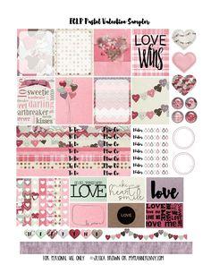 My Planner Envy: Pastel Valentine Sampler - Free Planner Printable