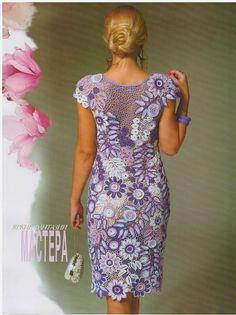 Zhurnal MOD Fashion Magazine 566 Russian crochet and knit patterns