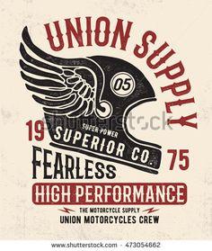 Motorcycle Helmet with vintage typography . Vector graphic for t shirt Motorcycle Helmet with vintag Motorcycle Logo, Motorcycle Posters, Motorcycle Design, Art Moto, Helmet Tattoo, Motorcycle Wallpaper, Vintage Typography, Vintage Logos, Vintage Motorcycles