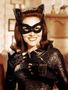Lee Merriwether  Lee Merriwether brought Catwoman to the big screen for the first time in the 1966 film Batman. She kept her identity under wraps with a half-mask and feline ears.