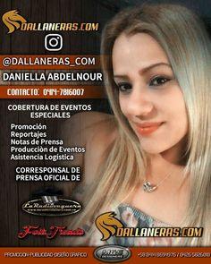 @dallaneras_com  corresponsal oficial #eventos  #reportajes  #coberturas  #promocion  #difusion