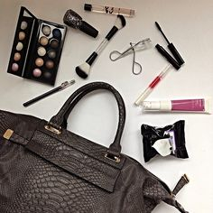 A girl on the go always has to be prepared with the essentials. What's in your bag? (p.s. It's all from Marshalls)   #fabfound #whatsinmybag