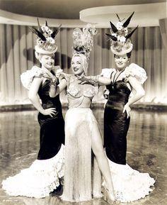 Carmen Miranda -Copacabana 1947    Fringe and Platforms!!!! There IS a god!