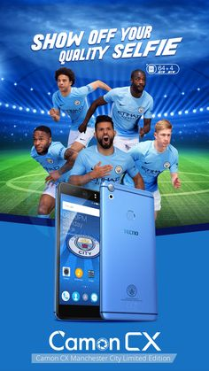 Camon CX Manchester City Limited Edition- TECNO Mobile