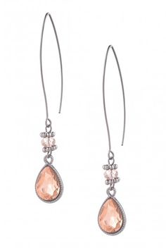 Type 2 Rose Colored Glasses Earrings - $14.97