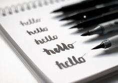 Lettering Brushpens