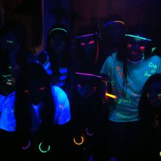 Glow- In -the- Dark party