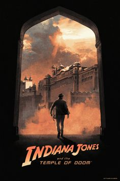 Indiana Jones and the Temple of Doom: Doorway to Adventure | Hans Woody - Follow Artist on Behance // Facebook // Instagram     Im allowing you to tag along. So why dont you give your mouth a rest. Okay doll?  More Hans Woodys Artworks   More Indiana Jones Related Artworks   Indiana Jones Related Stuff On Amazon