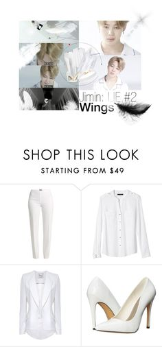 """Wings #2"" by kpopaholic ❤ liked on Polyvore featuring Basler, Banana Republic, Hebe Studio, Michael Antonio, Vanessa Mooney, btswings and BTSLIE"