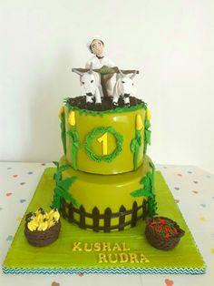 Farming themed cake Themed Cakes, Farming, Chocolate Cake, Desserts, Food, Theme Cakes, Chicolate Cake, Tailgate Desserts, Chocolate Cobbler