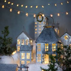 Simply Inspired Holidays: Winter Village