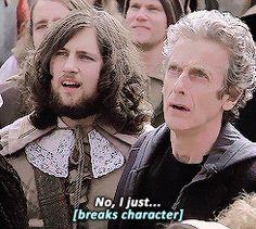 I love Peter Capaldi ☺♥♥
