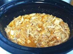 17 Day Diet Gal: Shredded Crockpot Salsa Chicken (C1)