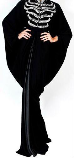 DAS Black Abaya. Dubai.