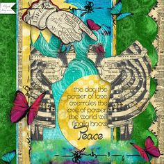 LIFE IS SHORT: Love this quote by Gandhi.  I made this page with Miranda in flight by Altered Amanda's Studio, available at Go Digital Scrapbooking here: http://www.godigitalscrapbooking.com/shop/index.php?main_page=index&manufacturers_id=148