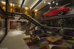 modern residence 133 Massive Weekend Retreat Balancing Modernity and Coziness: Casa ALD