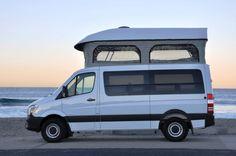 camp van The ten best partners for camping van conversions in the USA. Mercedes Benz Vans, Mercedes Benz Sprinter, Sprinter Van Conversion, Camper Conversion, Minivan, Motorhome, Ducato Camper, Custom Camper Vans, Vw Lt