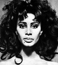 donyale luna.  detroit native.  first black model featured on the cover of british vogue [march 1966].