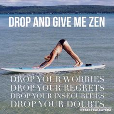 I realize it is only Tuesday, but my week is already crazy. Do you have those weeks too?? Reason #9,000 why I love #Yoga...it centers me, balances me, and calms me. My schedule is jammed back but I ALWAYS make time for it. The busier I am, the more I need it!
