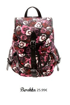 Back to school  4 σακίδια πλάτης που λατρέψαμε  backpack  bag  schoolbag   floralbag  bershka  shopping 97e03ac741e
