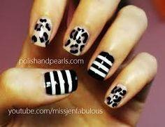 mix match nails - Google Search