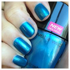 #WetnWild #nails #nailpolish #swatches .  Instagram: accnpl