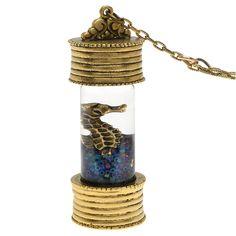 Tutorial - How to: Aquatic Vial Necklace | Beadaholique