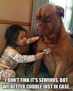 hahaha this was so me as a child with my veterinary kit