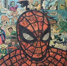 Hacer un collage de recortes con comics