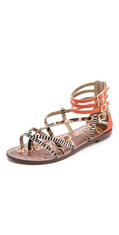 Sam Edelman Gable Strappy Flat Sandals | SHOPBOP