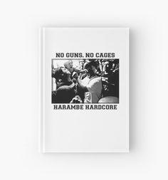 Harambe Hardcore - Black Text