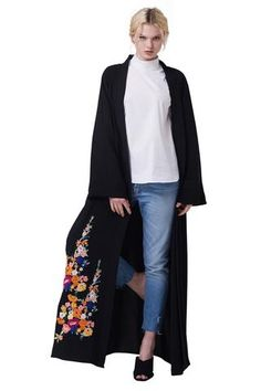 24 Best Embroidery Abaya images  8889711b971d