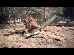 (28) Pulling a Stump Using a Tractor and Mechanical Advantage - YouTube