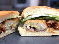 A Sandwich a Day: Chip & Crab Dip at Certé