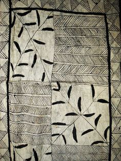 Hiapo Tapa Cloth | Circa 1890s | Some scholars believe that many hiapo from this period were made by a single small community on Niue