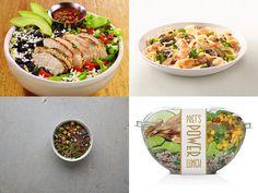 A look at 6 trendy bowl meals Pasta Salad, Cobb Salad, Restaurant Trends, People Eating, Food Presentation, Bowls, Soup, Plates, Ethnic Recipes