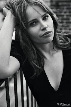 Felicity Jones, photographed by Miller Mobley