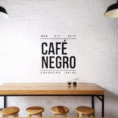 Cafe Negro | hand pa