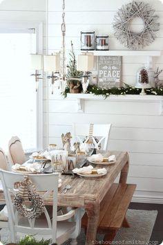 Zimní dekorace v interiérech   Le blog de Pipi