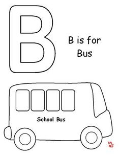 School Bus Coloring Sheet Coloring Pages Pinterest