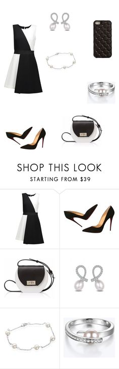 """Untitled #525"" by paty8797 ❤ liked on Polyvore featuring Milly, Christian Louboutin, Joanna Maxham, Belk & Co. and 2Me Style"