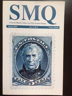 SMQ Stamp Market Quarterly Guide Book PSE Graded Stamps Vol 8 No. 2 Spring 2009