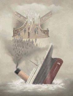 Titanic  this pict is so sad