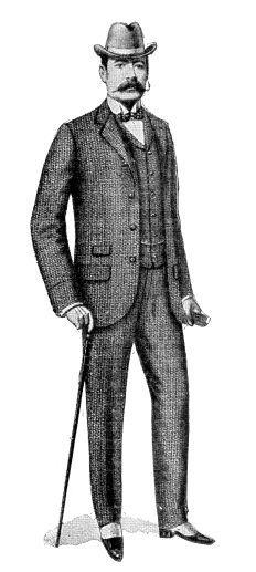 The Victorian Tweed Suit �iStockphoto / duncan1890