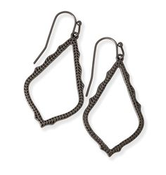 Kendra Scott Sophia Earrings in Gunmetal